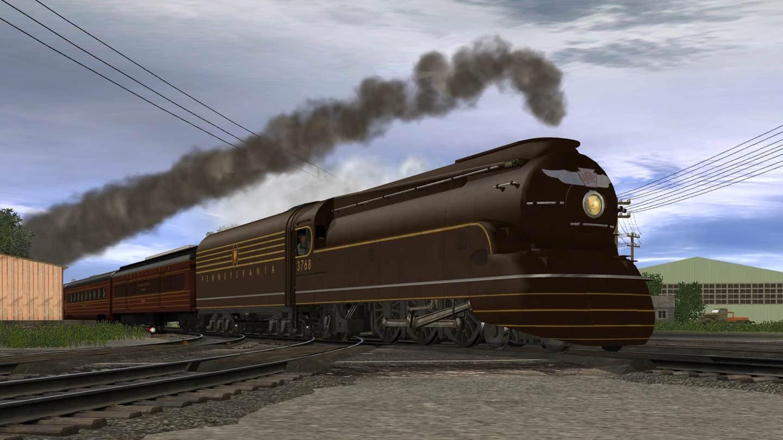 The Pennsylvania Railroad or Pennsys K4 class 4-6-2