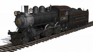 PRR D16sb – Trainz 2012 SP1, T:ANE SP1 & SP2
