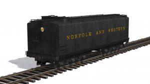 N&W Aux Tender – Trainz 2009, 2010, 2012, Mac 1 & 2, T:ANE SP1 & SP2