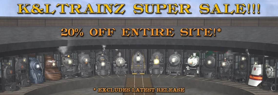 K&L Trainz | Trainz Steam Locomotives | Trainz Steam Locomotives